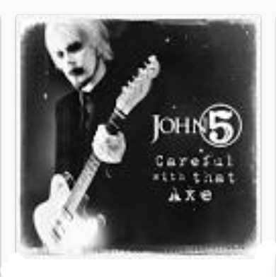 John 5 -  2014 Careful with that Ax - at MMX