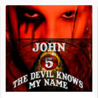 John 5 - 2007 The Devil Knows My Name - at MMX